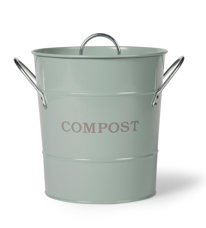 Garden Trading Compost Bucket - Shutter Blue: Amazon.co.uk: Garden ...