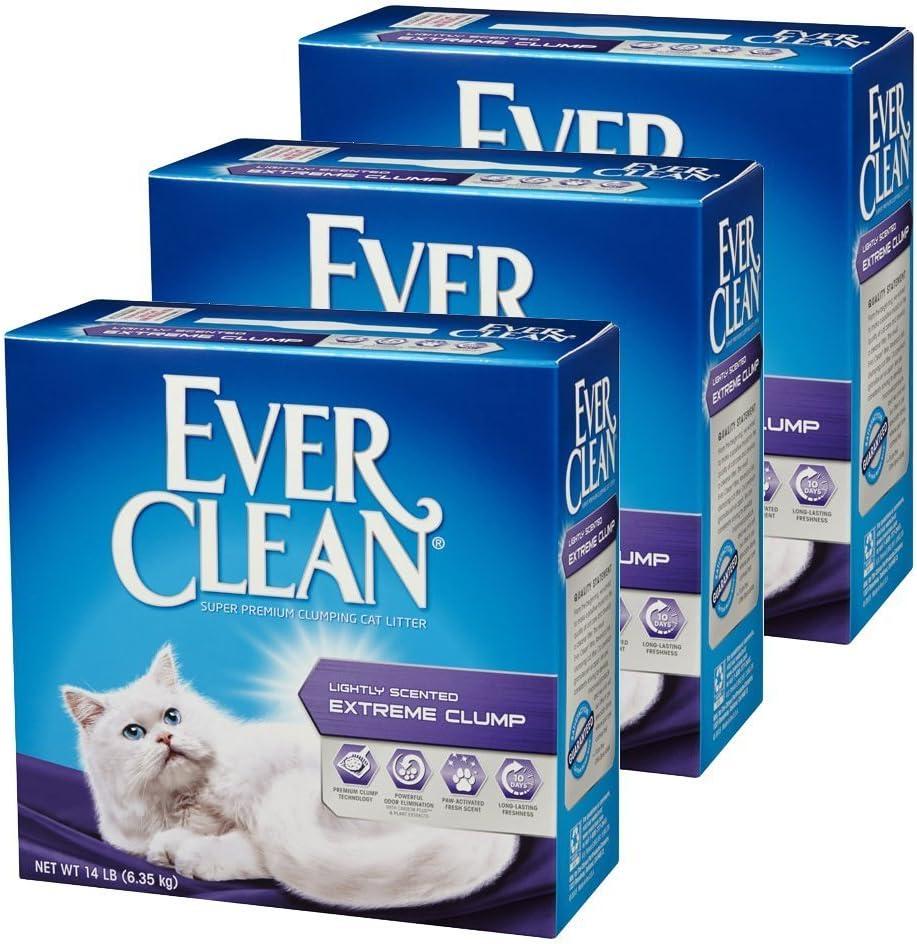 EVERCLEAN 猫砂 [正規代理店品] 小粒微香タイプ