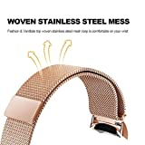CAGOS Gear S2 Bands Sets Women, 2 Pack Metal