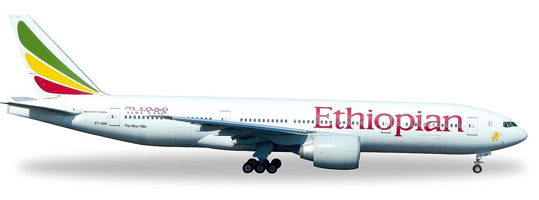 Herpa 528115 - Ethiopian Airlines Boeing 777-200LR