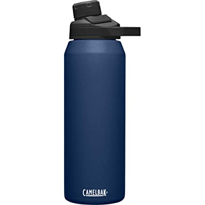 CamelBak Chute mag SST Vacuum Insulated Botellas, Unisex Adulto, Azul Marino, 1 Litres/32 oz