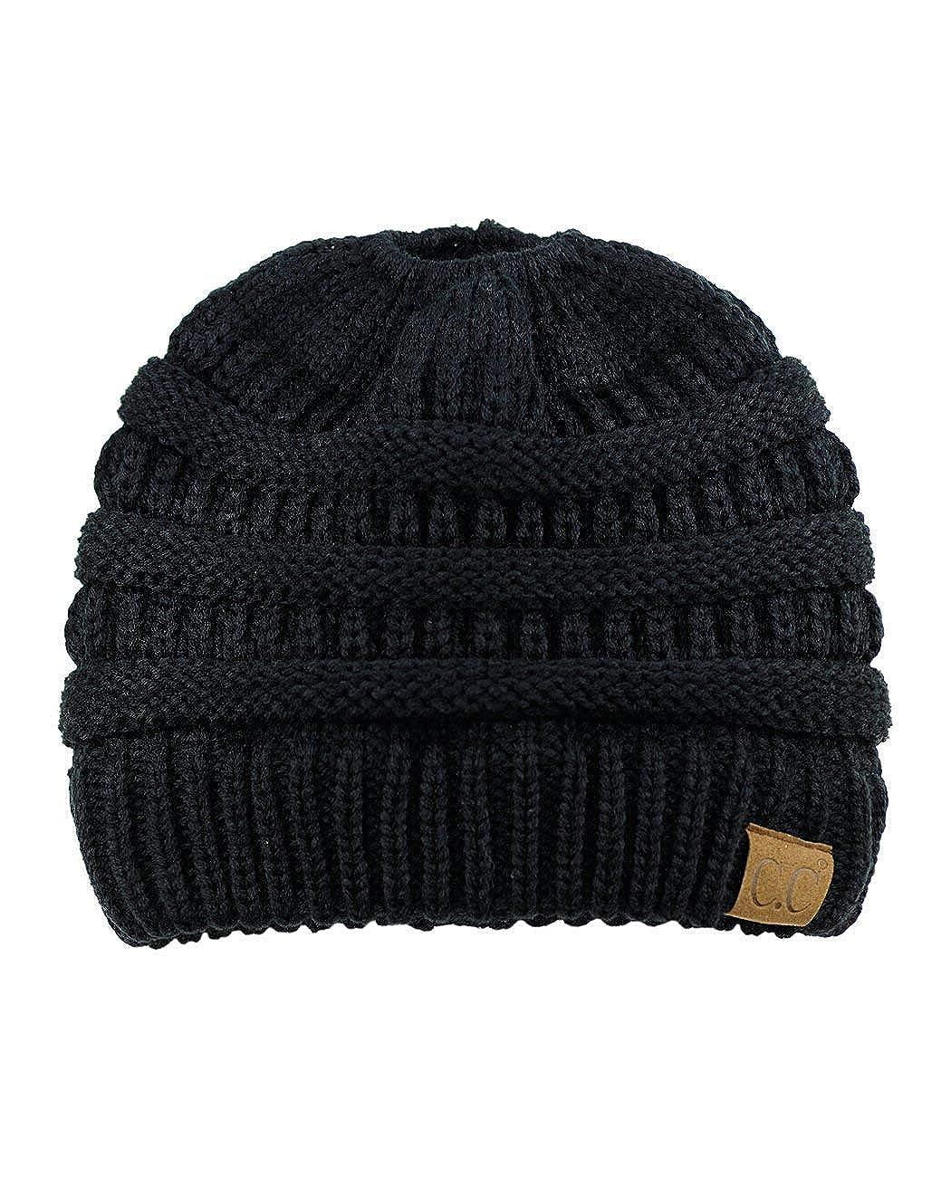 67d214b64eadfe 3D-Star C.C Trendy Warm Chunky Soft Stretch Cable Knit Beanie Skully