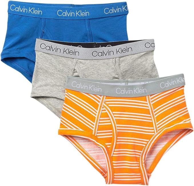Calvin Klein Calzoncillos Modernos de algodón para niños, X-Large: Amazon.es: Ropa y accesorios