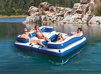 Amazon.com: Intex Oasis Island - Balneario hinchable para 5 ...