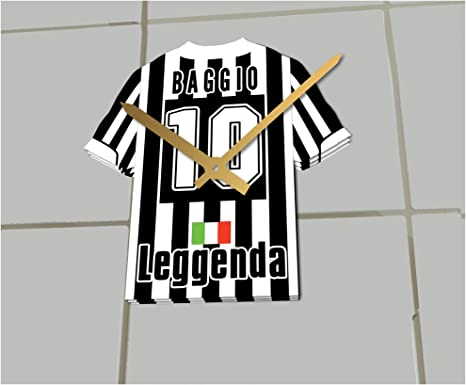 FanPlastic Roberto Baggio Juventus F.C. Football - Reloj de Camisa ...