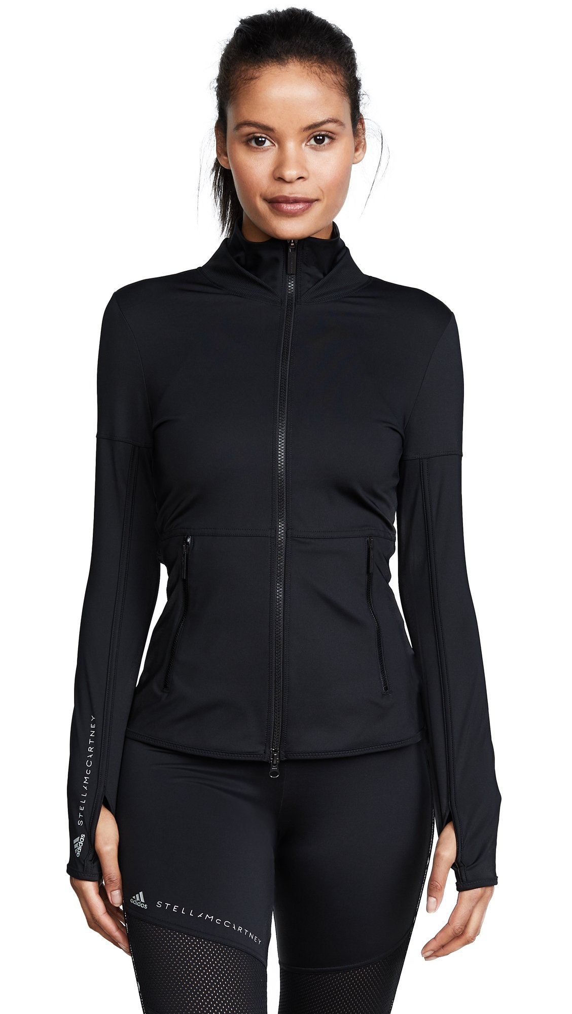 adidas by Stella McCartney Women's Performance Essentials Jacket, Black, Small by adidas
