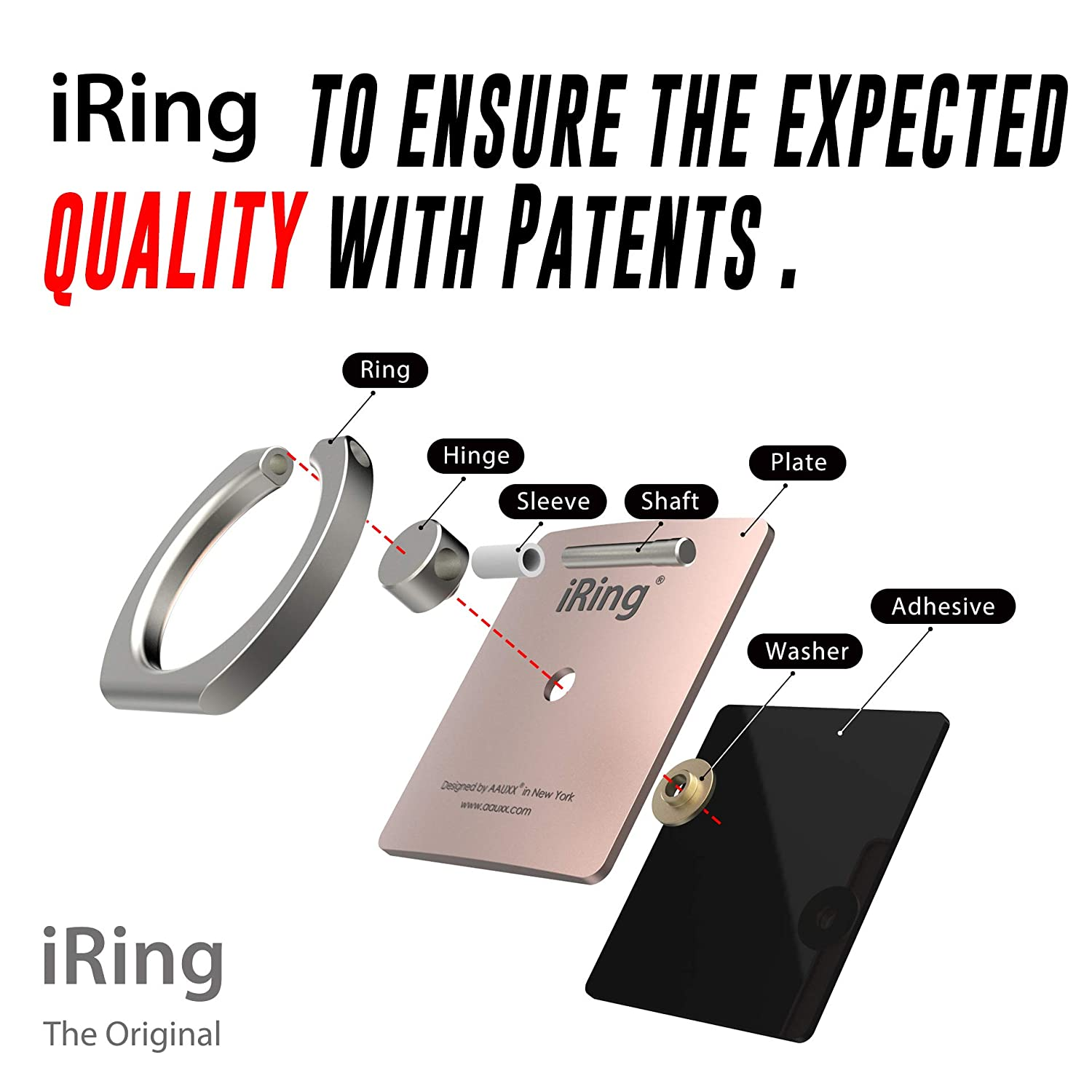 Other Android Smartphones and Tablets. Xs Max Samsung AAUXX iRing with Mount Hook Set Cell Phone Grip and Finger Holder for car and Office iPhone 8 and 8 Plus Ring Stand Accessory for iPhone Xs