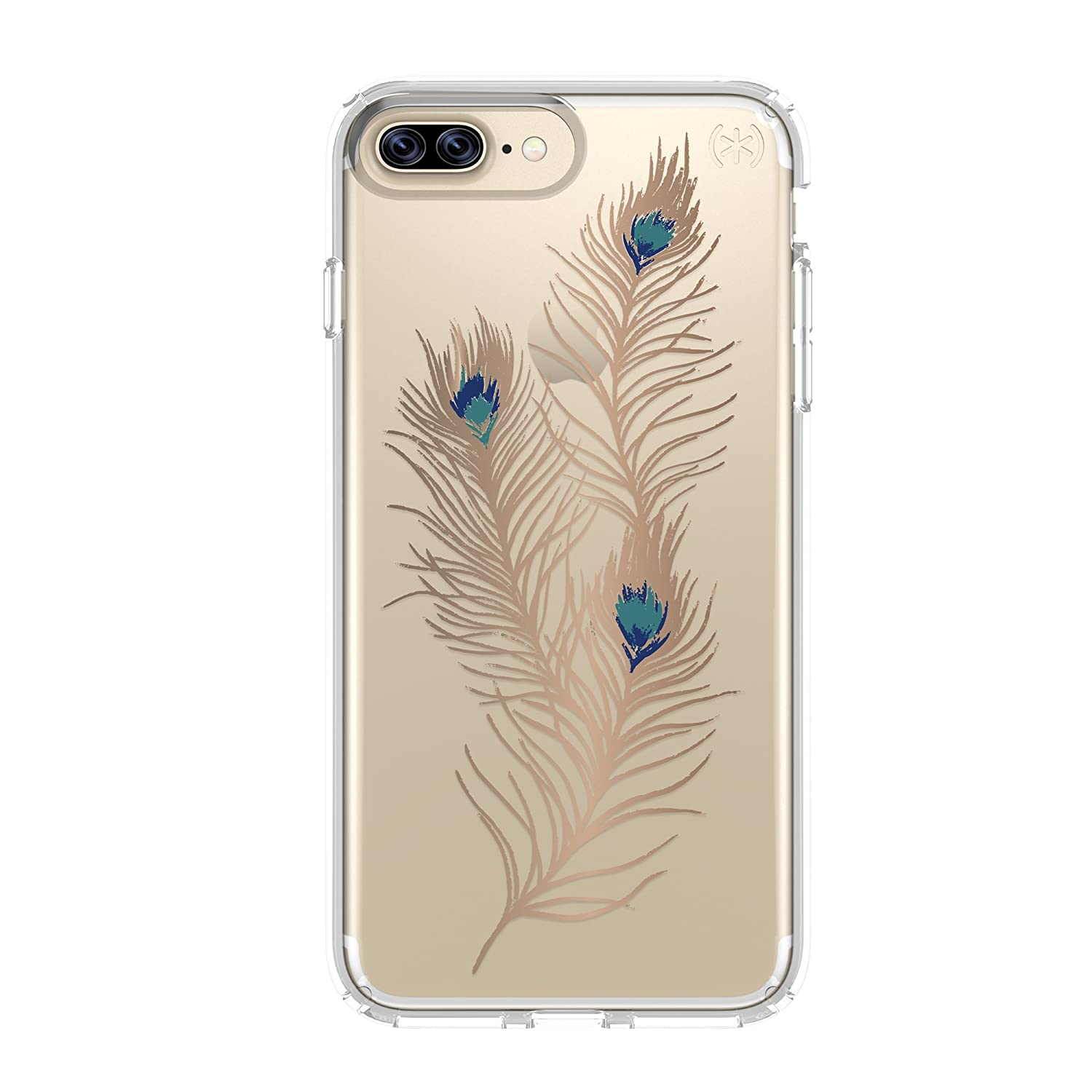 Amazon Speck Products Presidio Clear Print Cell Phone Case For IPhone 7 Plus