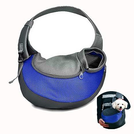 Topwell Portable Pequeña Perro Gato Conejos Llevar Mochila Suave y Bolso de Viaje al Aire Libre
