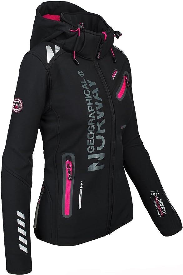 Softshell Funktions Sport Outdoor Regen Damen Geographical Jacke Norway N0nOv8wm