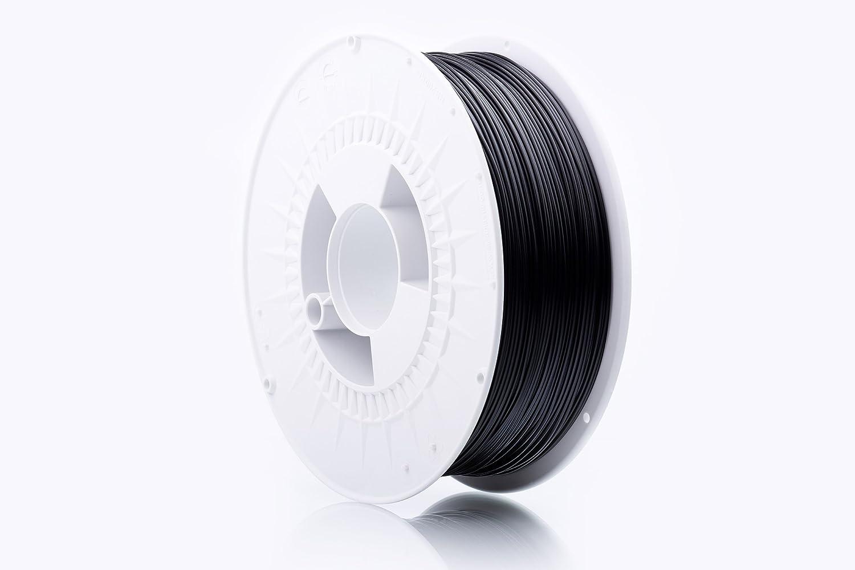 print-Me 5906190615022 Filament fü r 3D drucker EcoLine PLA 1.75 mm 1 kg, Anthracite Black POLIGRAF