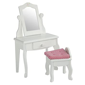 Amazoncom Olivias Little World Princess Vanity Table and