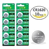 LiCB CR1620 3V Lithium Battery (10-pack) CR 1620