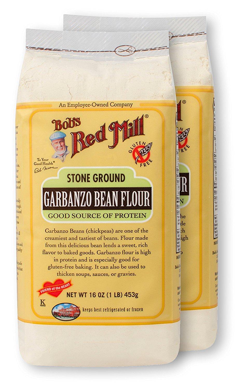 De Bob Red Mill garbanzo Bean Harina – 16 oz – 2 Pk
