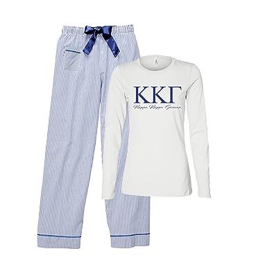 7d925c2d66f Kappa Kappa Gamma Pajama Set at Amazon Women s Clothing store