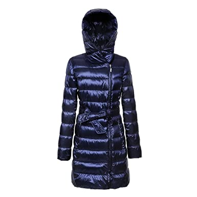 d4d28b25fc82 ZNYSTAR Womens Down Coat with Hood Down Jackets Women Packable Down Jackets  Jackets Light Winter Warm Long Sections Down Coat Jacket (M, ...