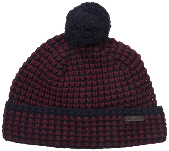 741b413c3127 Ted Baker Men s Walhat Knitted Beanie Hat