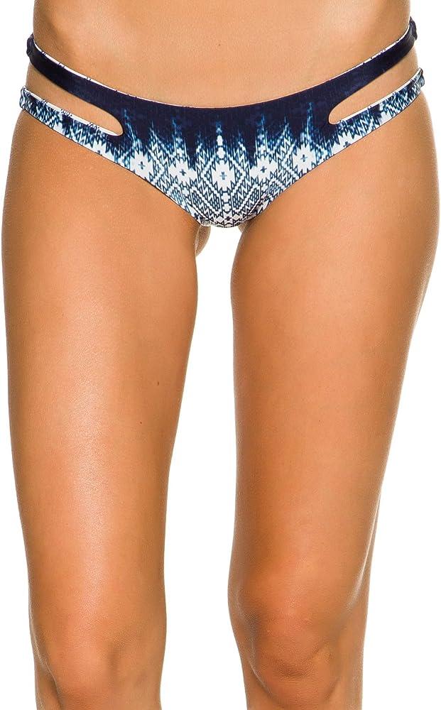 Navy Medium Rip Curl Women/'s Mirage Runaway Hipster Bikini Bottom