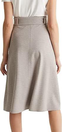 ESPRIT Collection Falda Informal de Negocios para Mujer