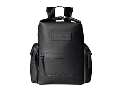 1723baac86e0 [ハンター] Hunter レディース Original Mini Top Clip Backpack Rubberised Leather  バックパック Black [