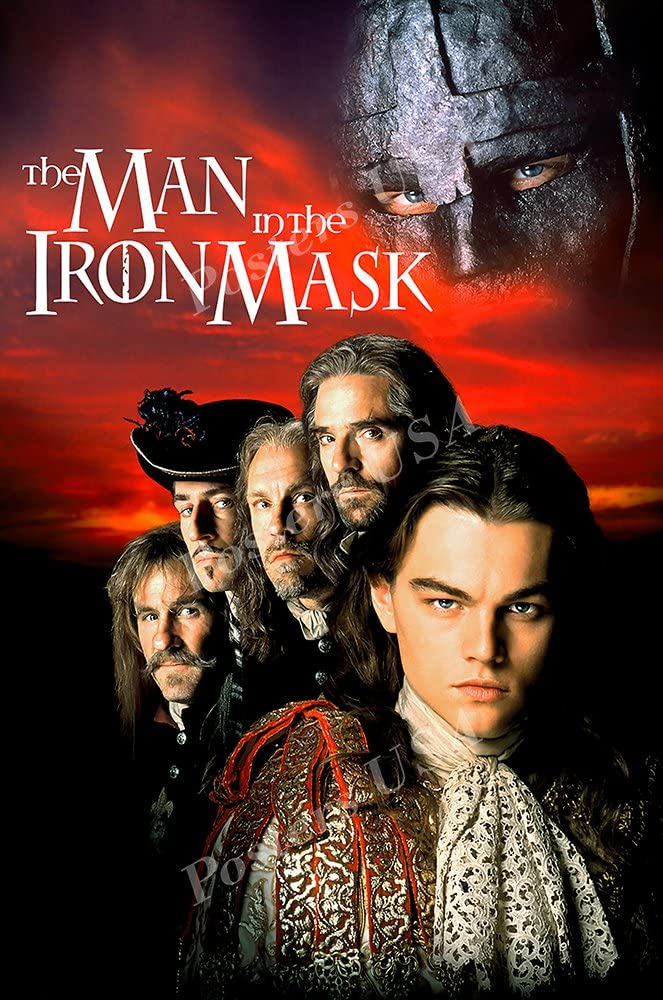 Posters USA The Man in the Iron Mask Movie Poster GLOSSY FINISH - FIL156 (24
