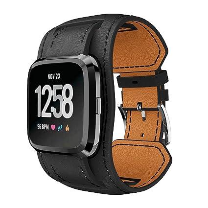 Amazon.com: huamecl para Fitbit Versa bandas suave correa de ...