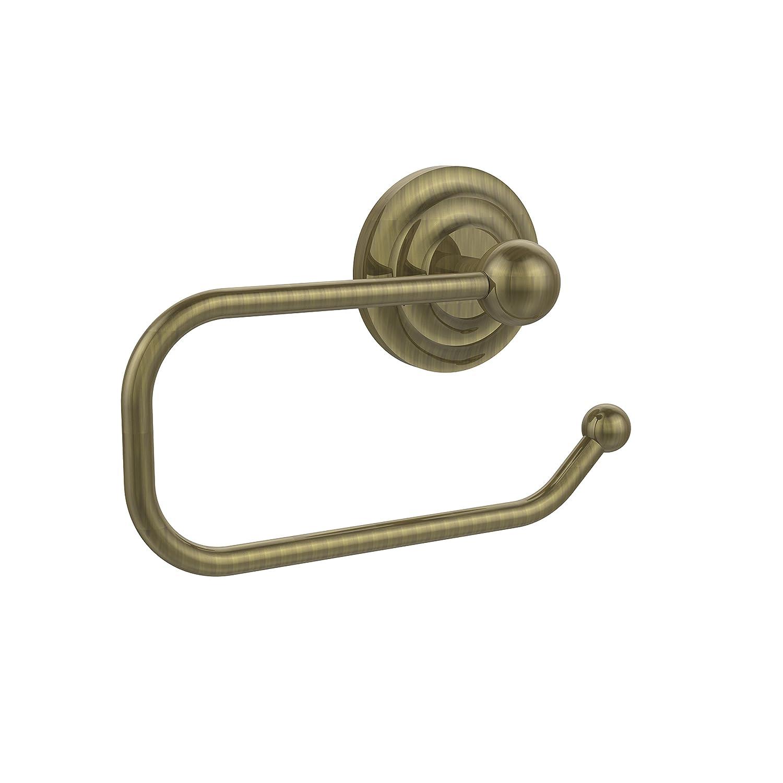 Antique Bronze Allied Brass PQN-24E-ABZ Euro Tissue Holder