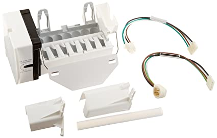 EXACT REPLACEMENT PARTS ERWR30X10093, Ice Maker with Harness for Ge on