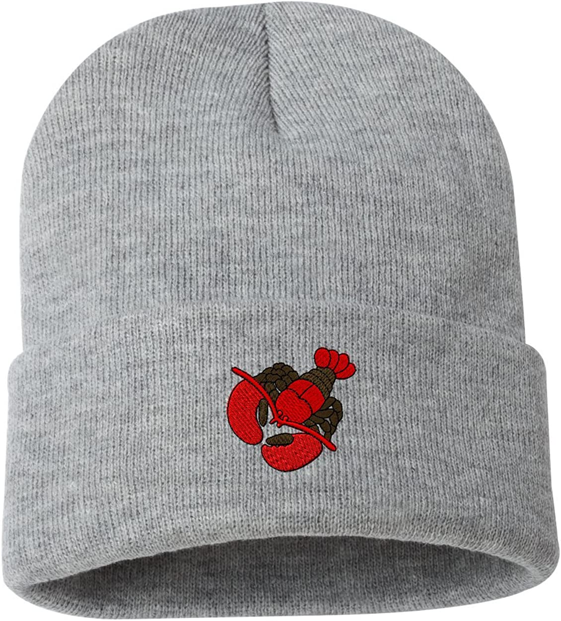 Lobster Custom Personalized Embroidery Embroidered Beanie