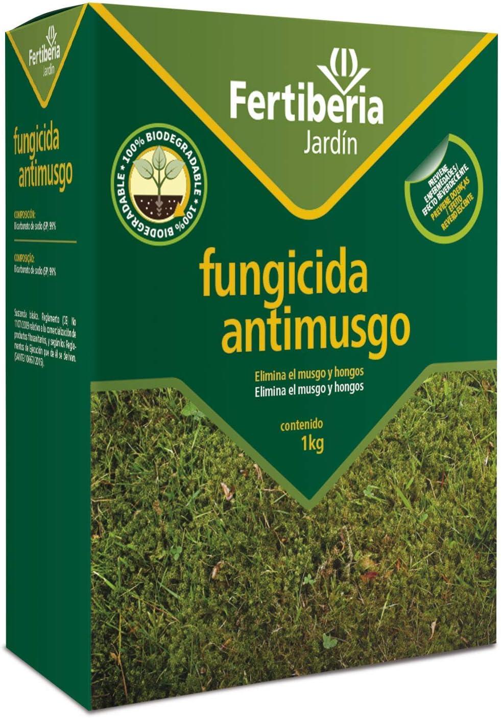 Tratamiento Fungicida Antimusgo para césped Fertiberia - 1 kg