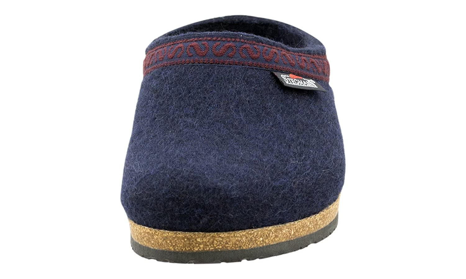 Stegmann Men/'s Wool Clog M108 Navy
