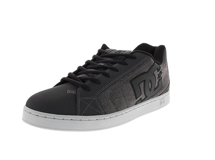 DC - Sneaker NET SE black destroy wash, Taille:53.5 EU