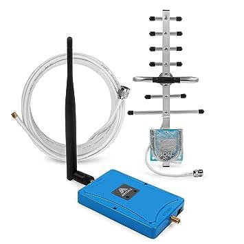 ANYCALL Amplificador de señal gsm 900/1800MHz(Band 8,Band 3) 2G 3G Señal Repetidor portátil con AGC Función: Amazon.es: Electrónica