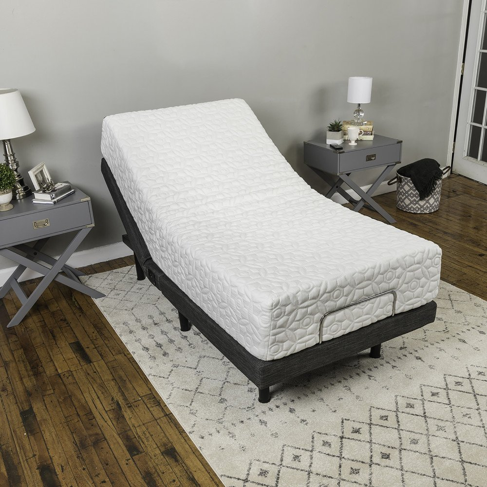 Classic Brands Adjustable Comfort Adjustable Bed Base with Massage, Wireless Remote and USB Ports by Classic Brands (Image #22)