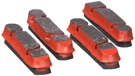 Campagnolo CP317 Patines de Freno, Unisex Adulto, Rojo, Talla Única