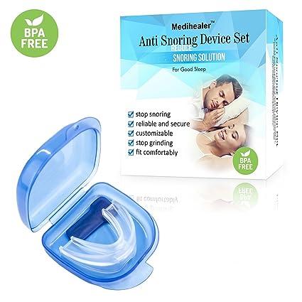 Set de solución para roncar: boquilla antirrotación, dilatador nasal para aliviar el ronquido y 3 tamaños ...