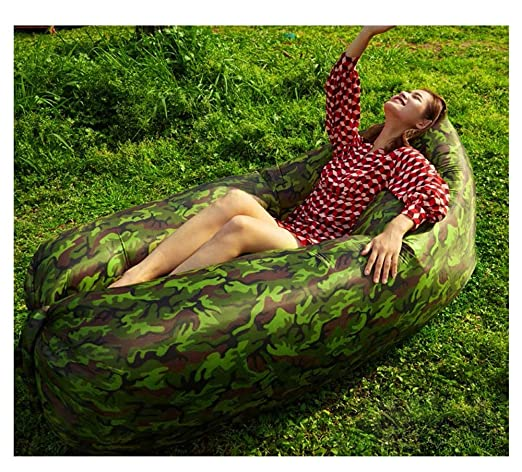 TongN-Sillones Al Aire Libre Inflable Lazy sofá Creativo luz ...
