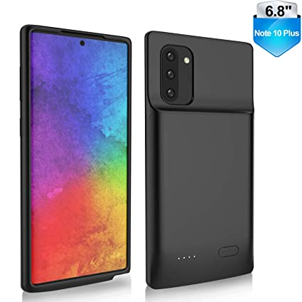 Amazon.com: RUXELY Galaxy Note 10 Plus funda de batería ...