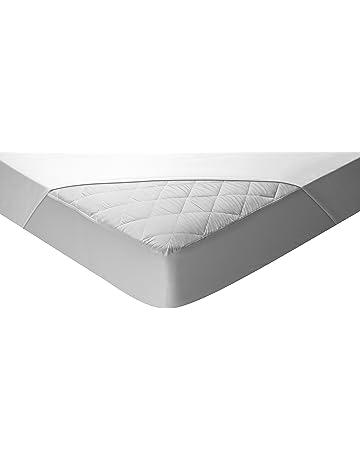 Pikolin Home - Protector de colchón acolchado cubre colchón para cuna, impermeable y transpirable,