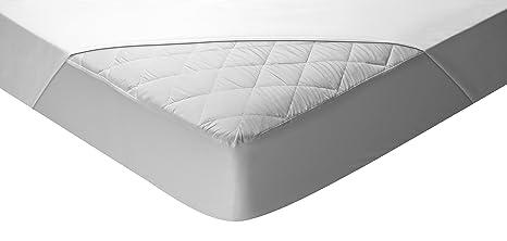 Pikolin Home - Protector de colchón acolchado cubre colchón, impermeable y transpirable, 135 x