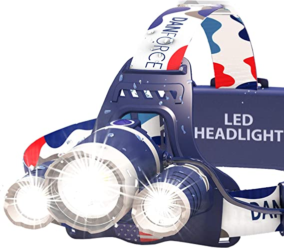 DanForce Headlamp for Camping
