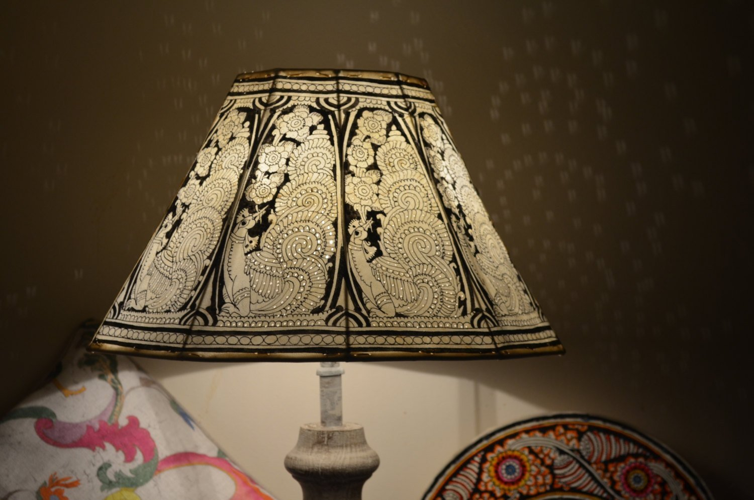 Vintage Inspired Large Lamp shade,Floor Lamp,Large Lampshade