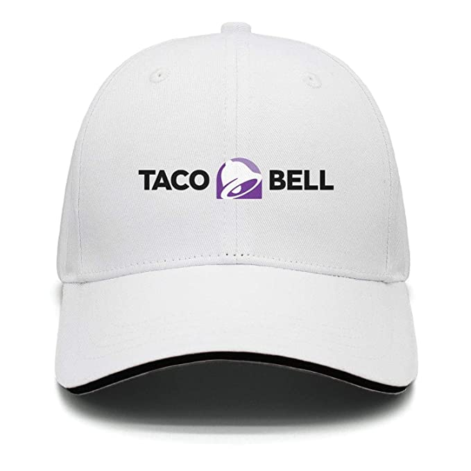 b2b1cedcfc098 iorty rtty Caps Adjustable Fashion 2016-Taco-Bell-Logo-Horizontal-Center-  Vintage Trucker Hat at Amazon Men s Clothing store