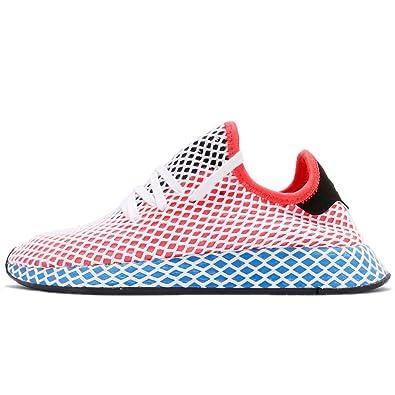 adidas Women s Deerupt Runner W, Solar RED Solred Bluebird Red Size  4.5 2155d51739