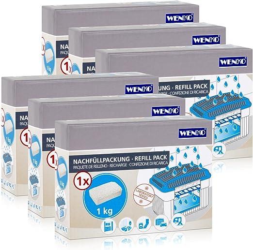 Wenko Feuchtigkeitskiller Gerät Entfeuchterblock Granulat Luftentfeuchter Block