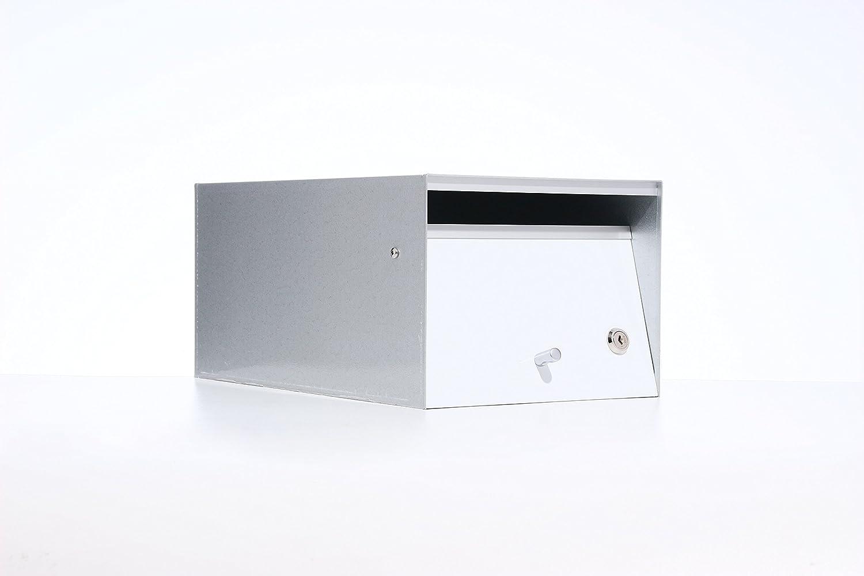 Box Design ポスト 郵便受け Urban White B00W6HVX3I 28620 White White