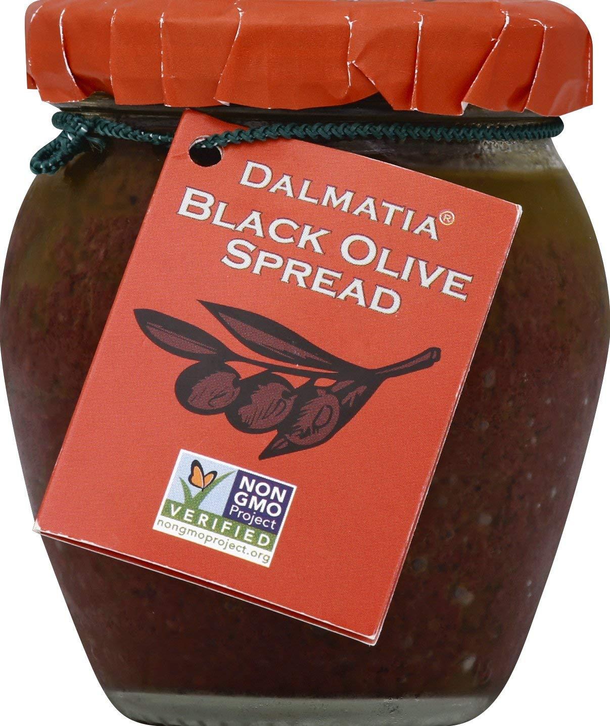 Dalmatia Black Olive Spread - 6.7 oz by Dalmatia