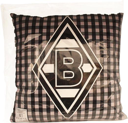 Borussia M/önchengladbach Kissen Schwarz-Weiss