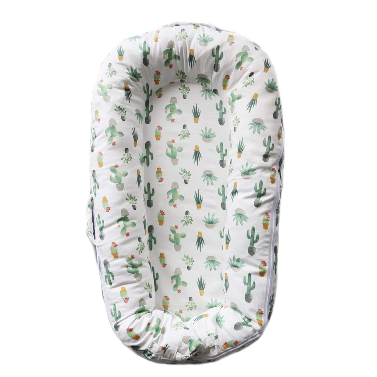 SimpleTot Baby Nest Sleep Pod Replacement Extra Cover ONLY (Fits Dockatot Deluxe+) (Cactus) by SimpleTot