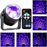Donpow Bola LED de Discoteca, 3W Disco Luz